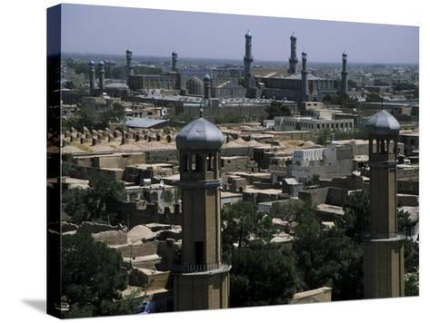 View from the Citadel with the Friday Mosque in the Background, Herat, Afghanistan-Jane Sweeney-Stretched Canvas Print