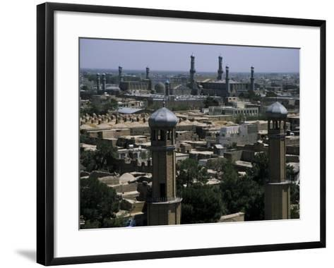 View from the Citadel with the Friday Mosque in the Background, Herat, Afghanistan-Jane Sweeney-Framed Art Print