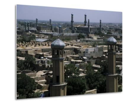 View from the Citadel with the Friday Mosque in the Background, Herat, Afghanistan-Jane Sweeney-Metal Print