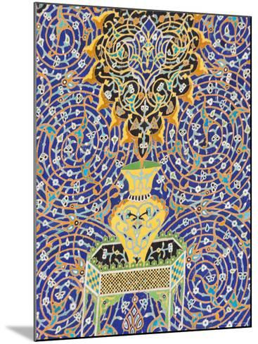 Detail of Tilework on the Friday Mosque or Masjet-Ejam, Herat, Afghanistan-Jane Sweeney-Mounted Photographic Print