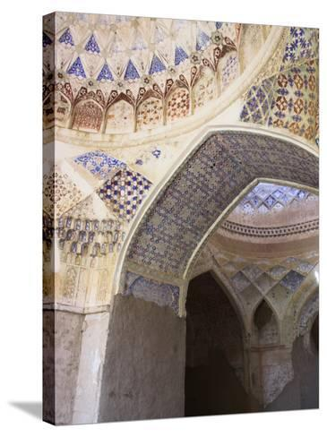 Mosque Interior at the Ruins of Takht-I-Pul, Balkh, Afghanistan-Jane Sweeney-Stretched Canvas Print