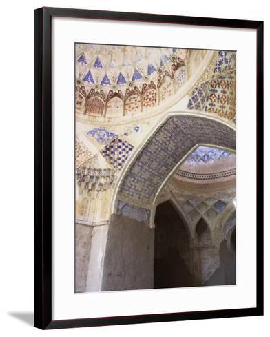 Mosque Interior at the Ruins of Takht-I-Pul, Balkh, Afghanistan-Jane Sweeney-Framed Art Print