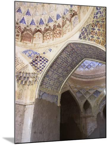 Mosque Interior at the Ruins of Takht-I-Pul, Balkh, Afghanistan-Jane Sweeney-Mounted Photographic Print
