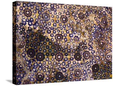 Timurid Decoration, Sufi Shrine of Gazargah, Herat Province, Afghanistan-Jane Sweeney-Stretched Canvas Print
