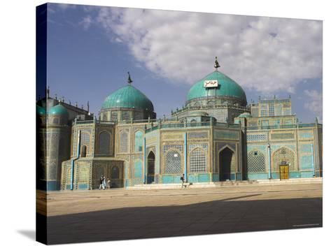 Shrine of Hazrat Ali, Who was Assassinated in 661, Mazar-I-Sharif, Afghanistan-Jane Sweeney-Stretched Canvas Print