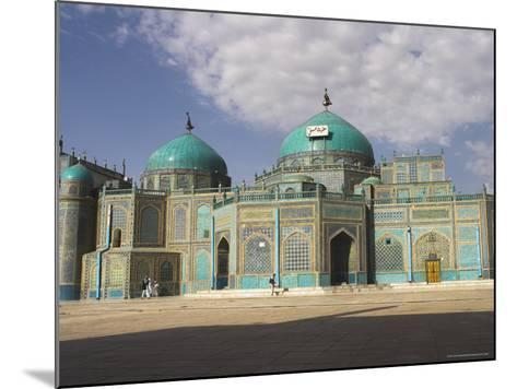 Shrine of Hazrat Ali, Who was Assassinated in 661, Mazar-I-Sharif, Afghanistan-Jane Sweeney-Mounted Photographic Print