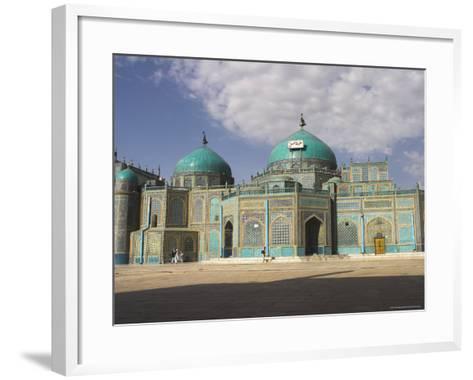 Shrine of Hazrat Ali, Who was Assassinated in 661, Mazar-I-Sharif, Afghanistan-Jane Sweeney-Framed Art Print