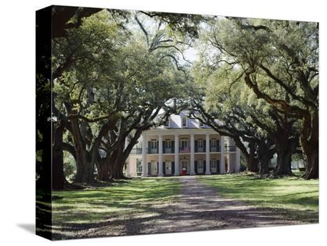 Exterior of Plantation Home, Oak Alley, New Orleans, Louisiana, USA-Adina Tovy-Stretched Canvas Print