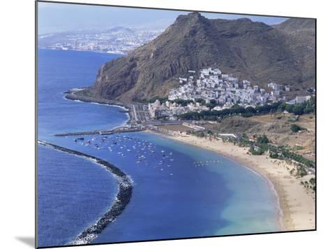 Las Teresitas Beach, Near Santa Cruz De Tenerife, Tenerife, Canary Islands, Spain, Atlantic-Adina Tovy-Mounted Photographic Print