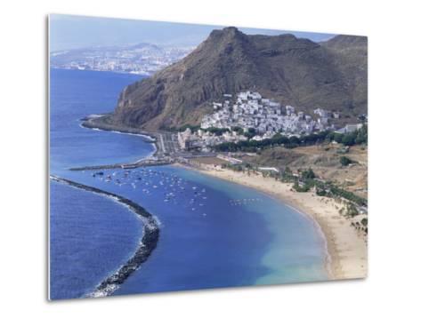 Las Teresitas Beach, Near Santa Cruz De Tenerife, Tenerife, Canary Islands, Spain, Atlantic-Adina Tovy-Metal Print