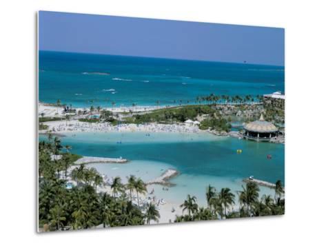 Paradise Island, the Bahamas, Atlantic, Central America-Adina Tovy-Metal Print
