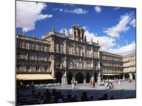 The Town Hall in the Plaza Mayor, Salamanca, Castilla Y Leon, Spain-Ruth Tomlinson-Mounted Photographic Print