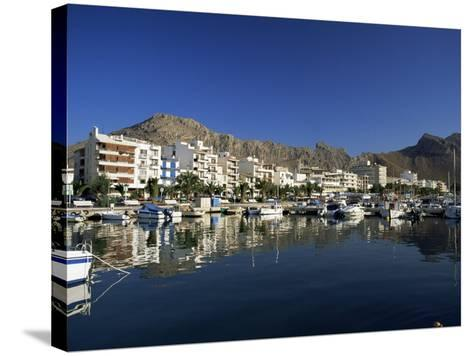 Harbour in the Morning, Puerto Pollensa, Majorca, Balearic Islands, Spain, Mediterranean-Ruth Tomlinson-Stretched Canvas Print