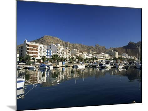 Harbour in the Morning, Puerto Pollensa, Majorca, Balearic Islands, Spain, Mediterranean-Ruth Tomlinson-Mounted Photographic Print