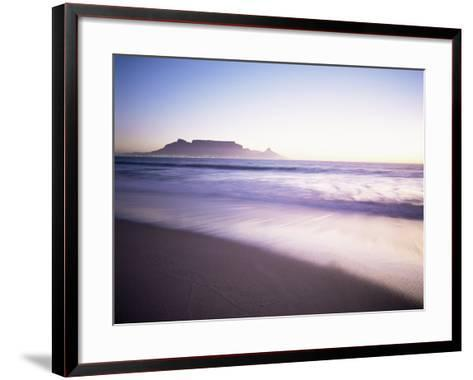 Table Mountain, Cape Town, Cape Province, South Africa, Africa-I Vanderharst-Framed Art Print