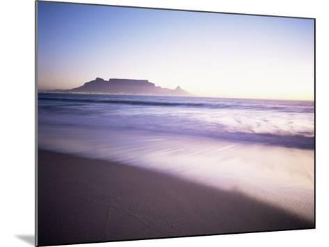 Table Mountain, Cape Town, Cape Province, South Africa, Africa-I Vanderharst-Mounted Photographic Print
