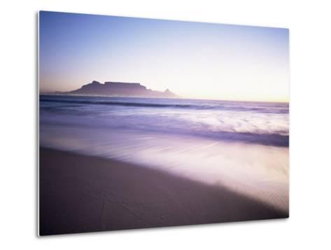 Table Mountain, Cape Town, Cape Province, South Africa, Africa-I Vanderharst-Metal Print