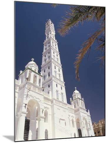 Al Mindhar Mosque, Tarim, Yemen, Middle East-Doug Traverso-Mounted Photographic Print