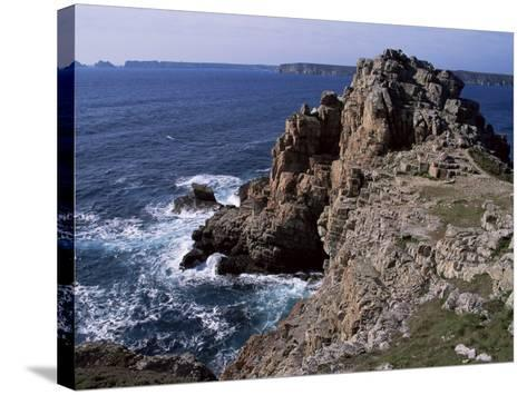 Dinan Point, Crozon Peninsula, Brittany, France-Guy Thouvenin-Stretched Canvas Print