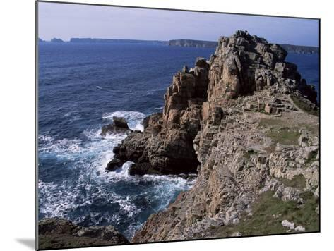 Dinan Point, Crozon Peninsula, Brittany, France-Guy Thouvenin-Mounted Photographic Print