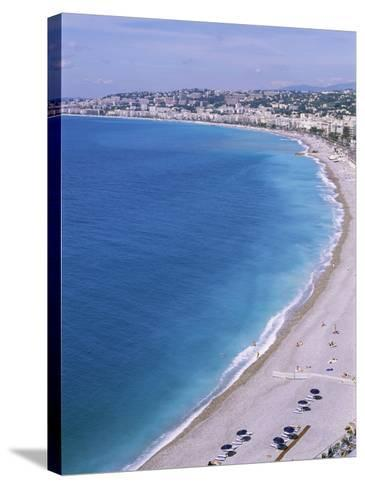 Baie Des Anges, Nice, Alpes Maritimes, Cote d'Azur, French Riviera, Provence, France-Guy Thouvenin-Stretched Canvas Print