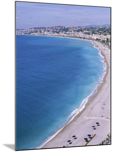 Baie Des Anges, Nice, Alpes Maritimes, Cote d'Azur, French Riviera, Provence, France-Guy Thouvenin-Mounted Photographic Print