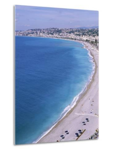 Baie Des Anges, Nice, Alpes Maritimes, Cote d'Azur, French Riviera, Provence, France-Guy Thouvenin-Metal Print