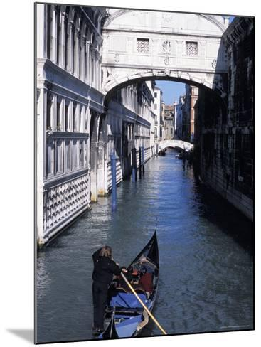 Bridge of Sighs, Venice, Veneto, Italy-Guy Thouvenin-Mounted Photographic Print