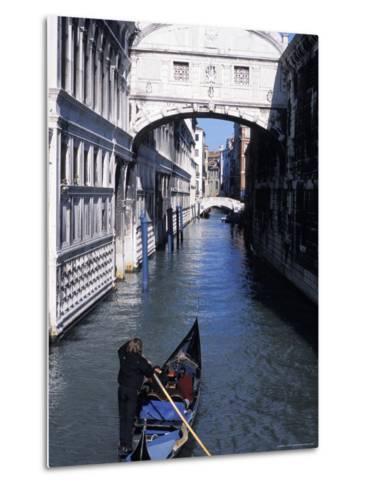 Bridge of Sighs, Venice, Veneto, Italy-Guy Thouvenin-Metal Print