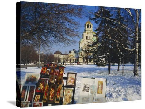 Alexander Nevski Cathedral, Sophia, Bulgaria-Tom Teegan-Stretched Canvas Print