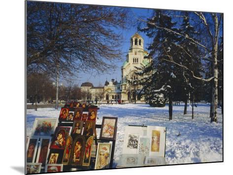 Alexander Nevski Cathedral, Sophia, Bulgaria-Tom Teegan-Mounted Photographic Print
