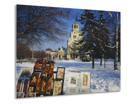Alexander Nevski Cathedral, Sophia, Bulgaria-Tom Teegan-Metal Print