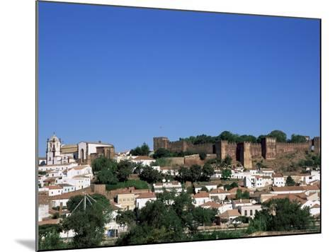 Castel Dos Mouros Overlooking Town, Silves, Algarve, Portugal-Tom Teegan-Mounted Photographic Print