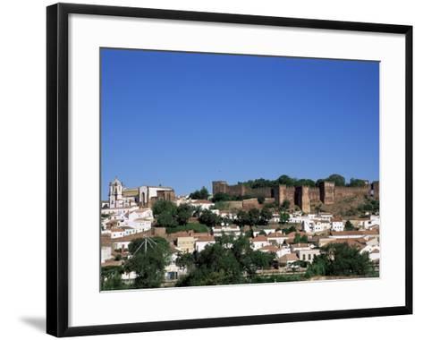 Castel Dos Mouros Overlooking Town, Silves, Algarve, Portugal-Tom Teegan-Framed Art Print