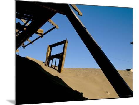 Diamond Mining Ghost Town, Kolmanskop, Namib Desert, Luderitz, Namibia, Africa-Steve & Ann Toon-Mounted Photographic Print