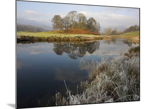 River Brathay in Winter, Near Elterwater, Lake District, Cumbria, England, United Kingdom-Steve & Ann Toon-Mounted Photographic Print