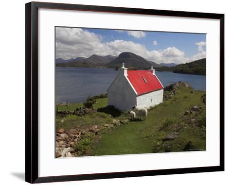 View Over Loch Torridon, Highlands, Scotland, United Kingdom-Steve & Ann Toon-Framed Art Print