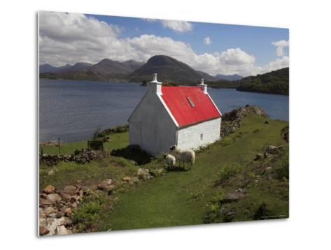 View Over Loch Torridon, Highlands, Scotland, United Kingdom-Steve & Ann Toon-Metal Print