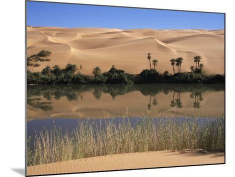 Oum El Ma Lake, Mandara Valley, Southwest Desert, Libya, North Africa, Africa-Nico Tondini-Mounted Photographic Print