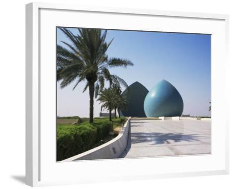 Martyrs Monument, Baghdad, Iraq, Middle East-Nico Tondini-Framed Art Print