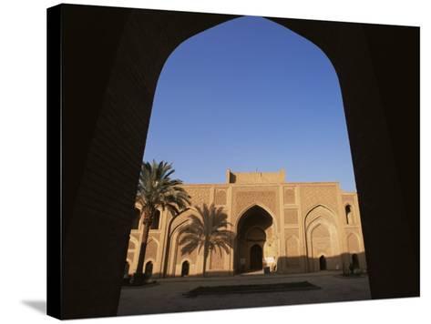 Moustantiryia Koranic School, Baghdad, Iraq, Middle East-Nico Tondini-Stretched Canvas Print
