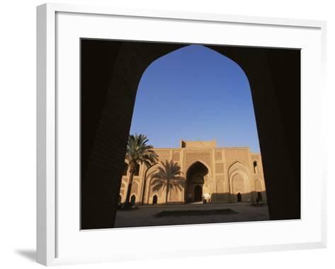 Moustantiryia Koranic School, Baghdad, Iraq, Middle East-Nico Tondini-Framed Art Print
