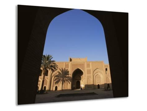 Moustantiryia Koranic School, Baghdad, Iraq, Middle East-Nico Tondini-Metal Print