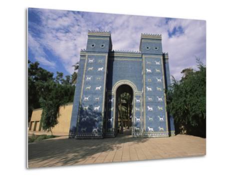 Ishtar Gate, Babylon, Iraq, Middle East-Nico Tondini-Metal Print