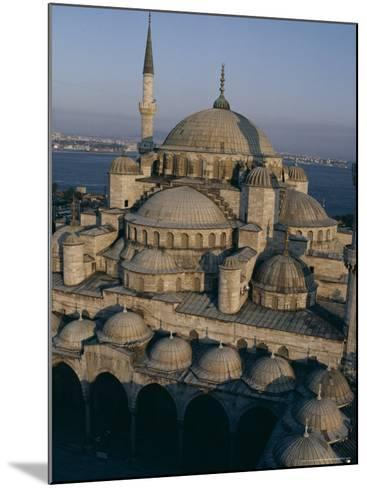 Sultan Ahmet I Mosque (The Blue Mosque), Unesco World Heritage Site, Istanbul, Turkey-John Henry Claude Wilson-Mounted Photographic Print