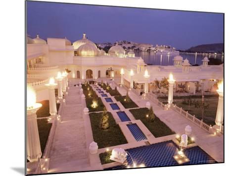 Udai Vilas Oberoi Resort Hotel, Udaipur Lake, Udaipur, Rajasthan State, India-John Henry Claude Wilson-Mounted Photographic Print