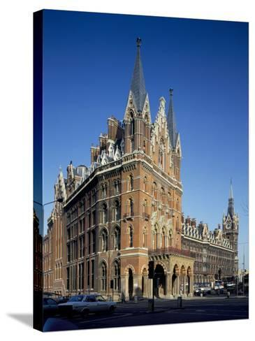 St. Pancras Railway Station, London, England, United Kingdom-Loraine Wilson-Stretched Canvas Print