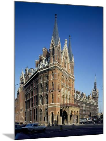 St. Pancras Railway Station, London, England, United Kingdom-Loraine Wilson-Mounted Photographic Print