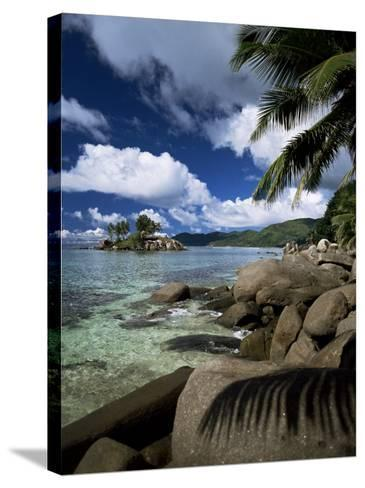 Coast, Island of Mahe, Seychelles, Indian Ocean, Africa-R H Productions-Stretched Canvas Print
