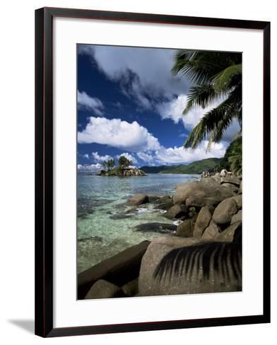 Coast, Island of Mahe, Seychelles, Indian Ocean, Africa-R H Productions-Framed Art Print
